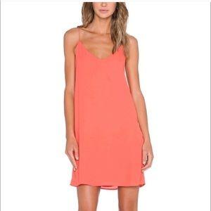 Blaque Label | Coral Sorbet Slip Dress